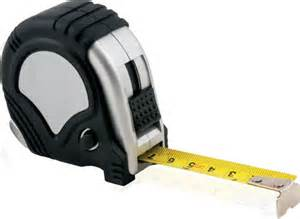 tape measure fell off roof